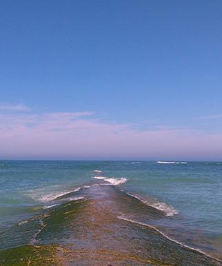 kamperen bij de zee